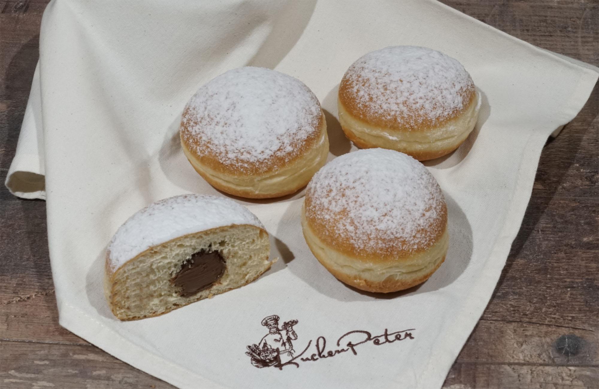 Kuchen-Peter Premium Nougatkrapfen 90g
