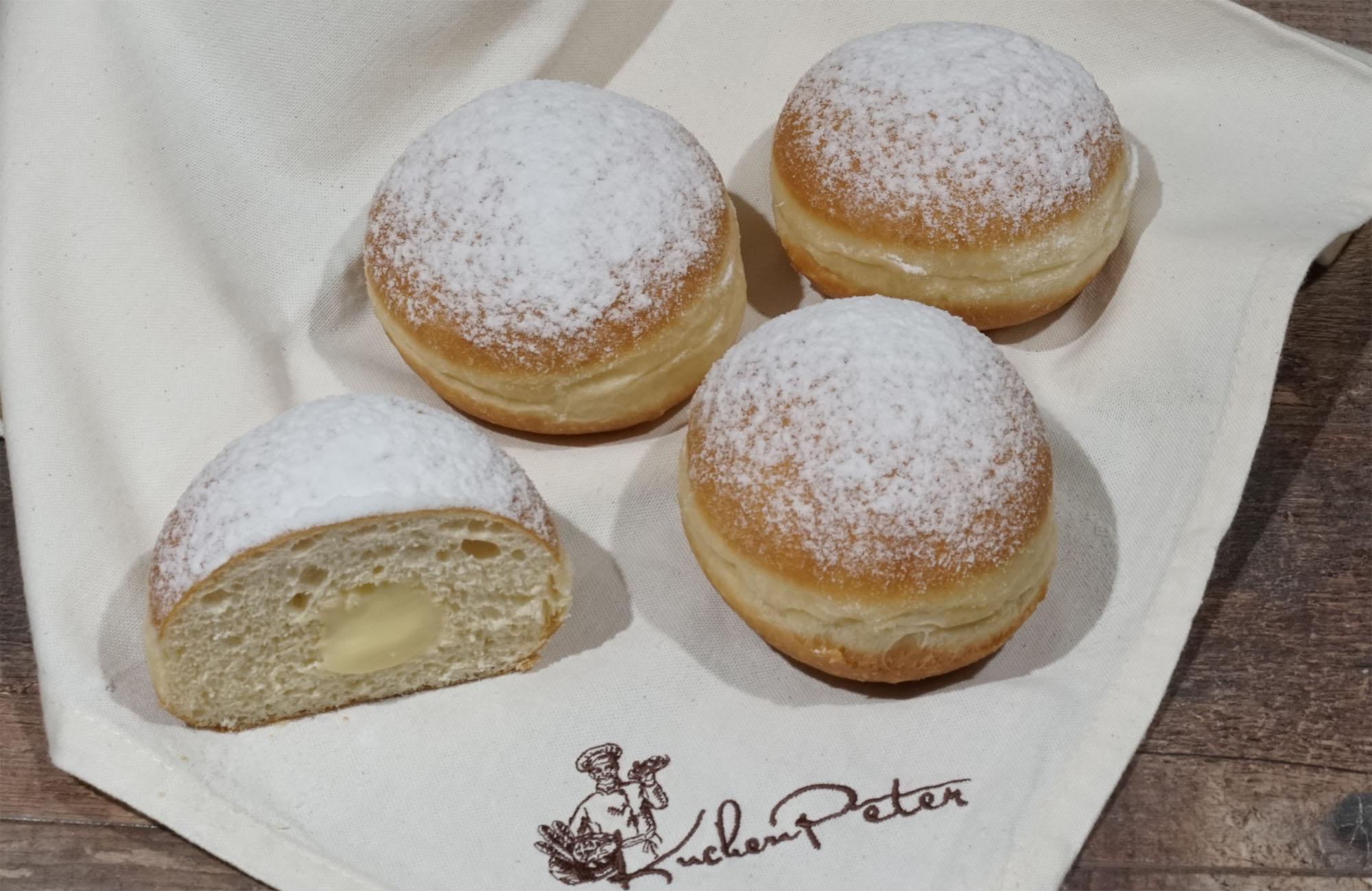 Kuchen-Peter Premium Vanillekrapfen 90g